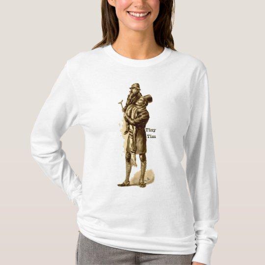 Bob Cratchit and Tiny Tim Christmas Carol T-Shirt