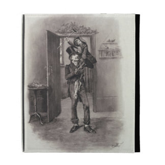 Bob Cratchit and Tiny Tim, from 'Charles Dickens: iPad Folio Covers