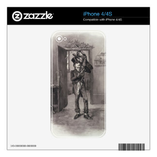 Bob Cratchit and Tiny Tim, from 'Charles Dickens: iPhone 4S Skins