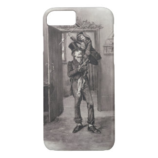 Bob Cratchit and Tiny Tim, from 'Charles Dickens: iPhone 7 Case