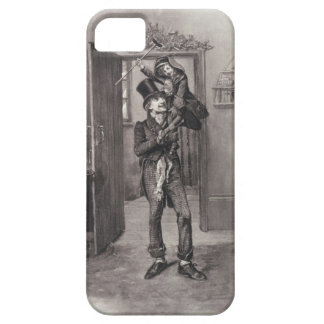Bob Cratchit and Tiny Tim, from 'Charles Dickens: iPhone SE/5/5s Case