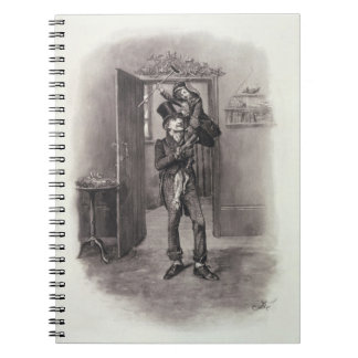 Bob Cratchit and Tiny Tim, from 'Charles Dickens: Notebook