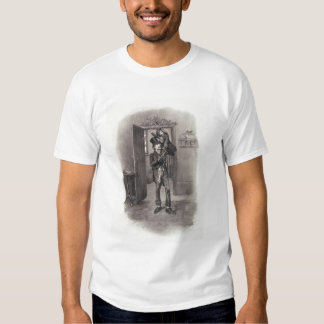 Bob Cratchit and Tiny Tim, from 'Charles Dickens: Tee Shirt