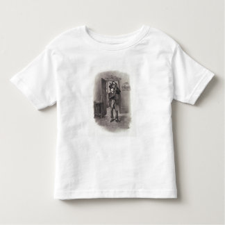Bob Cratchit and Tiny Tim, from 'Charles Dickens: Toddler T-shirt