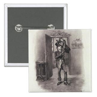 Bob Cratchit y Tim minúsculo, de 'Charles Dickens: Pin Cuadrado