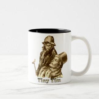 Bob Cratchit y villancico minúsculo del navidad de Taza De Café