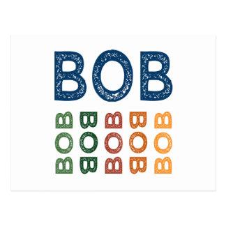 Bob Cute Colorful Post Cards