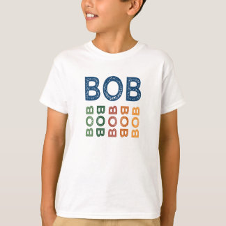 Bob Cute Colorful T-Shirt