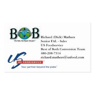 BoB - Dick Mathers Business Card