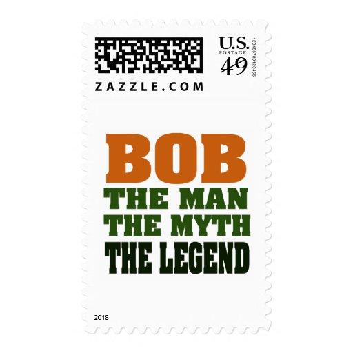 Bob - el hombre, el mito, la leyenda estampilla