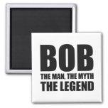 Bob el hombre el mito la leyenda iman para frigorífico
