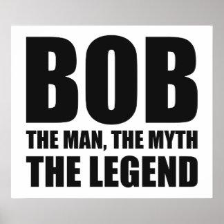 Bob el hombre el mito la leyenda posters