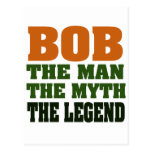 Bob - el hombre, el mito, la leyenda tarjeta postal