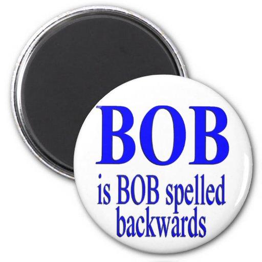 Bob es Bob al revés Imán De Frigorífico