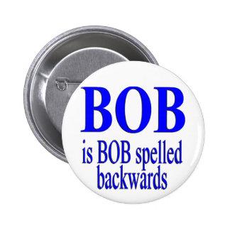 Bob es Bob al revés Pin Redondo 5 Cm