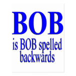 Bob es Bob al revés Tarjetas Postales
