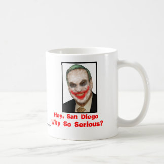 Bob Filner: Why So Serious? Mug