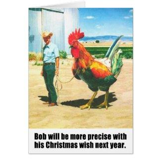 Bob got a big cock!