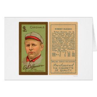 Bob Harmon Cardinals Baseball 1911 Card