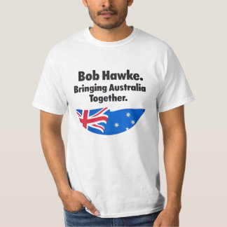 Bob Hawke: Traer la camiseta de Australia junto