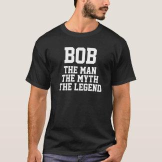 Bob: Hombre, mito, leyenda (colores oscuros) Playera
