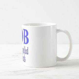 Bob is Bob backwards Coffee Mug