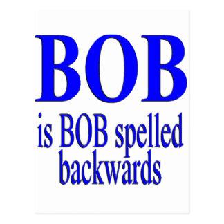 Bob is Bob backwards Post Cards