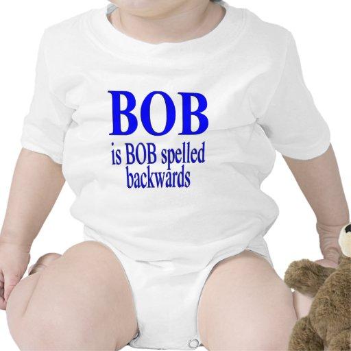 Bob is Bob backwards T-shirts