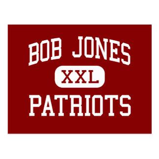 Bob Jones - patriotas - alto - Madison Alabama Postal