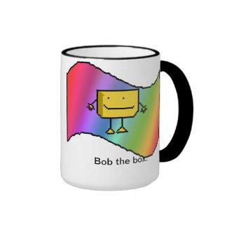 Bob la caja taza de dos colores