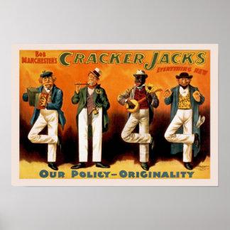 Bob Manchester Jacks Vintage Poster