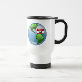 Bob nombrado tierra tazas de café