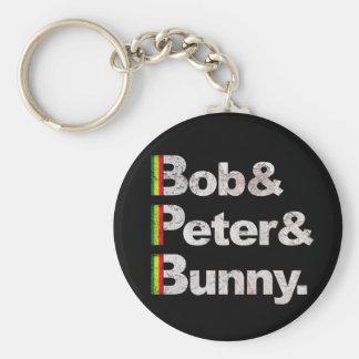 Bob&Peter&Bunny Key Chains