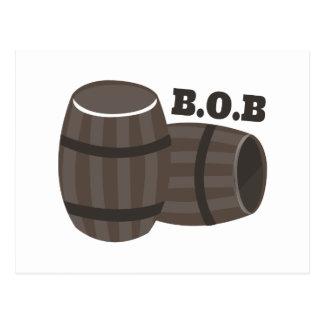 BOB POSTCARD