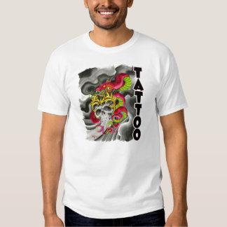 Bob Sims Tattoo Skull Shirt
