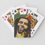 Bob smoke'n hot deck of cards
