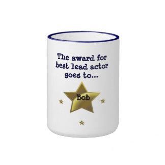 BOB The Award For Best Lead Actor Coffee Mug