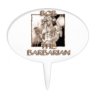 Bob, The Barbarian Cake Topper