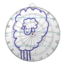 Bob the Lonely Sheep Dartboard