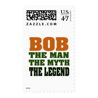 Bob - the Man, the Myth, the Legend Postage