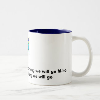 Bob the partier's drinking song Two-Tone coffee mug