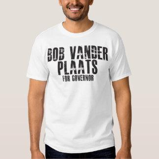 Bob Vander Plaats para el gobernador 2010 Remera