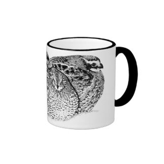 Bob White Quail Ringer Coffee Mug