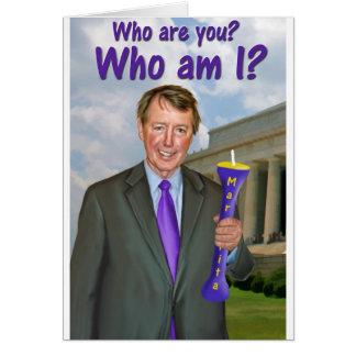 "Bob ""Who are you?"" Etheridge Card"