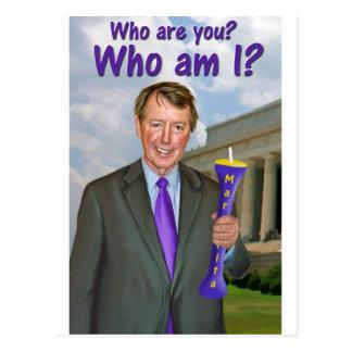 "Bob ""Who are you?"" Etheridge Postcard"
