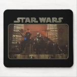 Boba Fett & Fennec On The Throne Mouse Pad