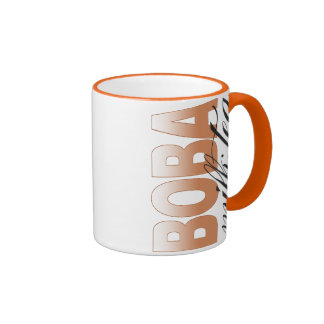 Boba Milk Tea Ringer Coffee Mug