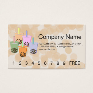 Boba on Parade Business Card