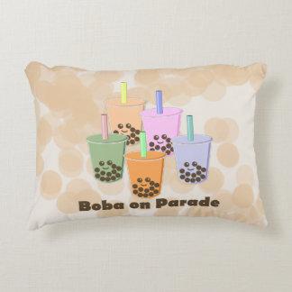 Boba on Parade Decorative Pillow