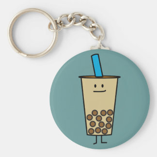 Boba Pearl Bubble Tea Keychain